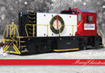 Christmas Locomotive Delivery