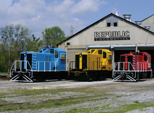Custom Manufactured Locomotives