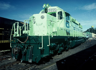 SD40-2 remanufactured